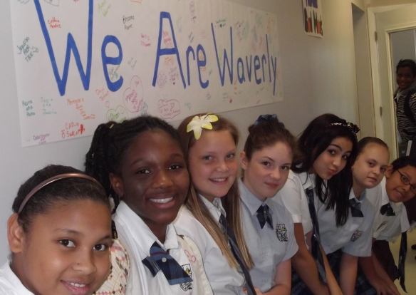 Students at Waverly Academy.