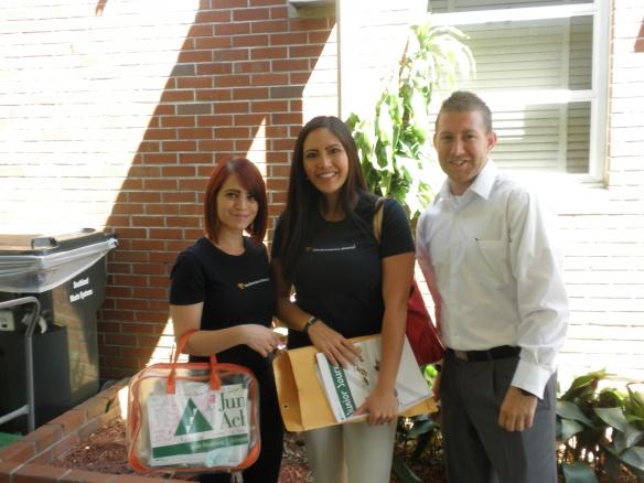 Sanita Rekic, Katrina Caval, and Cory McKibben are ready to teach!