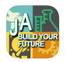 Build Your Future app button