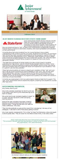 JA Newsletter image
