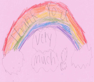 2nd grade-Lee-Skyview Academy-pink rainbow (used on 4.10.14)