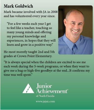 Mark Goldwich Volunteer