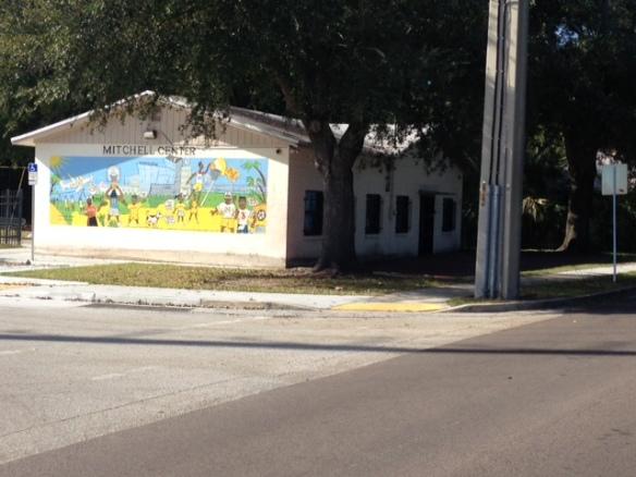 The Mitchell Community Center, site of future Bank of America Junior Achievement Financial Literacy Center.
