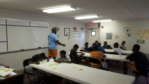 Vision For Excellence held a JA Boy$ group focusing on building their personal brand.