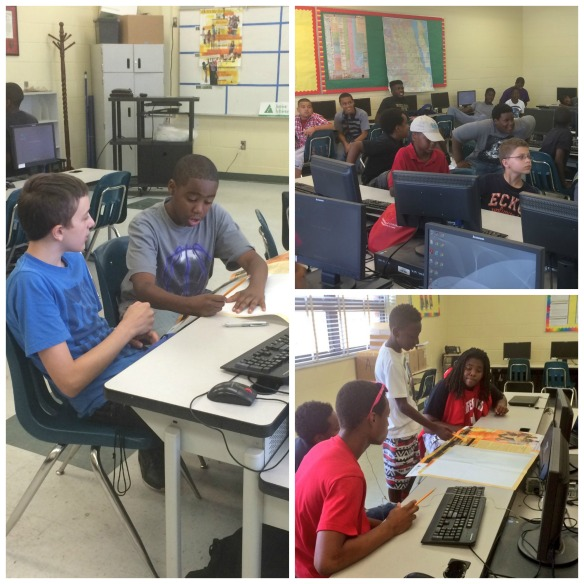 The Bridge of Northeast Florida held a JA Boy$ group at its DuPont Middle Team Up site.