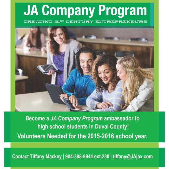 Junior Achievement of North Florida volunteers needed jacksonville