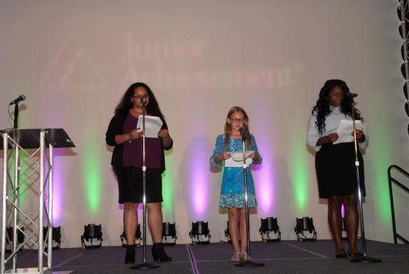 JA Girl$ Smart Women Make Change event emcees