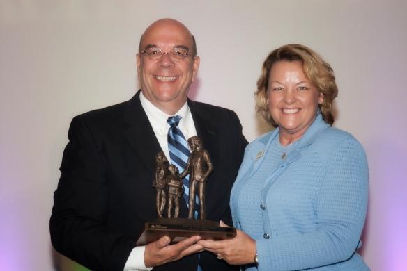 JA Girl$ legacy award Susan Towler