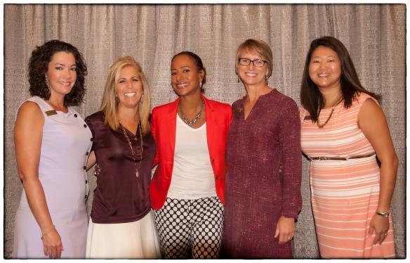 VIP Reception attendees with Amy DuBois Barnett.