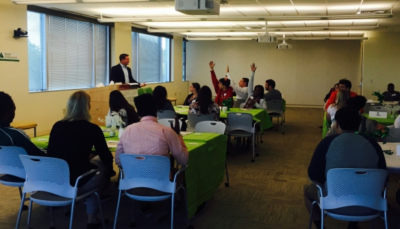 Q&A session with Harold Stankard, general manager, Fidelity Investments.