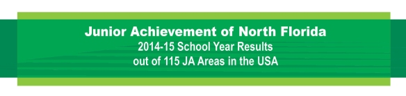JA of North Florida 2014-15 school year results