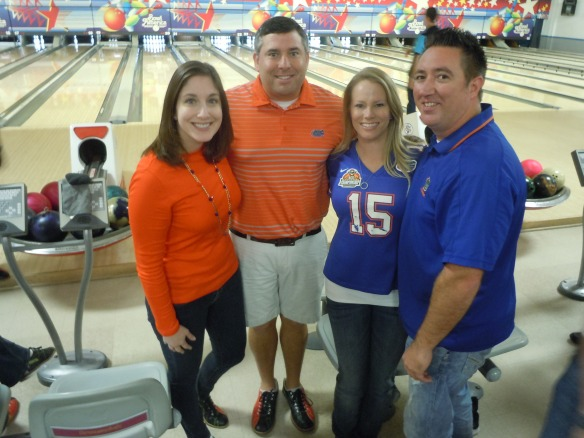 Participants came decked out in their orange & blue, black & red!