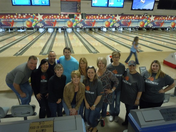 SunTrust Bowlers at Junior Achievement Bowl-A-Thon