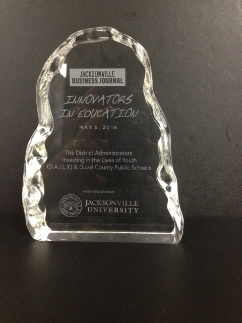Jacksonville Business Journal Innovators In Education Award