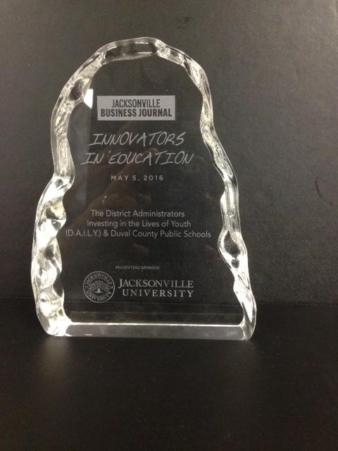 Jacksonville Business Journal Innovators In Education Award