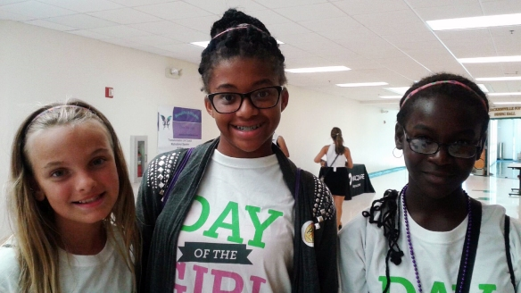 Day of the Girl participants