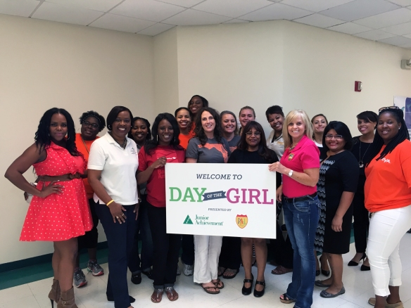 Day of the Girl women participants