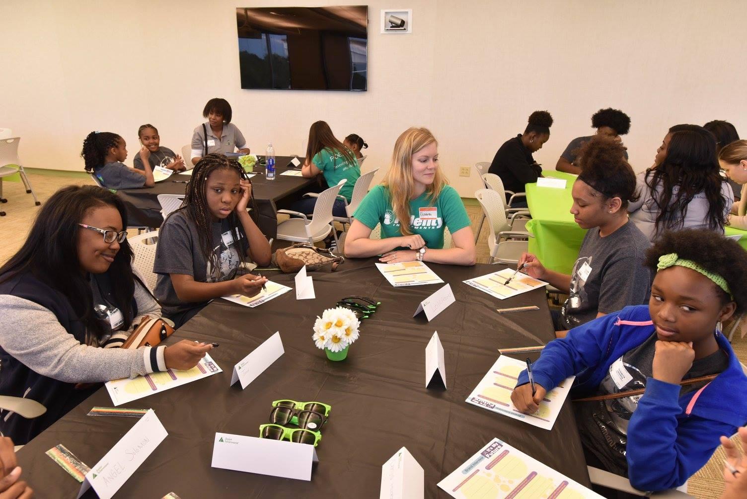 Fidelity Investments women inspire JA Girl$ participants - JA In The