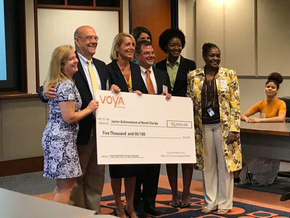 Check presentation with JA VOYA Wolfson HS